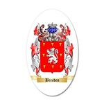 Breeden 35x21 Oval Wall Decal