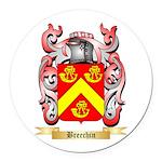 Breechin Round Car Magnet