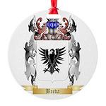 Breda Round Ornament