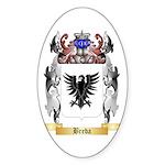 Breda Sticker (Oval 50 pk)