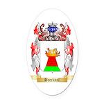 Brecknell Oval Car Magnet