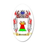 Brecknell 35x21 Oval Wall Decal