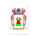 Brecknell 35x21 Wall Decal