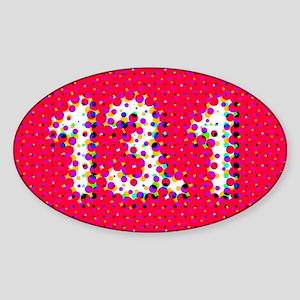 Super Unique 13.1 POP ART (red) Sticker