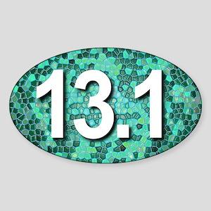 Super Unique 13.1 TEAL Sticker