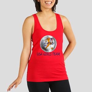 USA Girls Team Racerback Tank Top