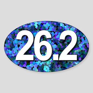 Super Unique 26.2 BLUE version Sticker