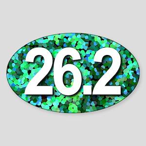Super Unique 26.2 green version Sticker