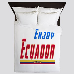 Ecuador Designs Queen Duvet
