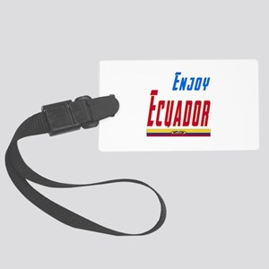 Ecuador Designs Large Luggage Tag