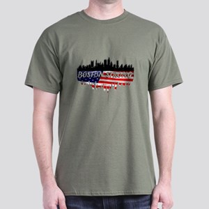 Boston Strong Marathon Dark T-Shirt