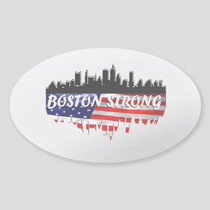 Boston Strong Marathon Sticker (Oval)