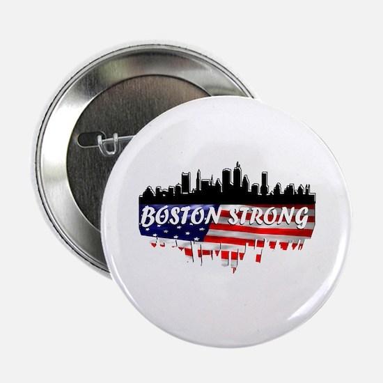 """Boston Strong Marathon 2.25"""" Button"""