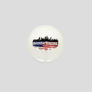 Boston Strong Marathon Mini Button
