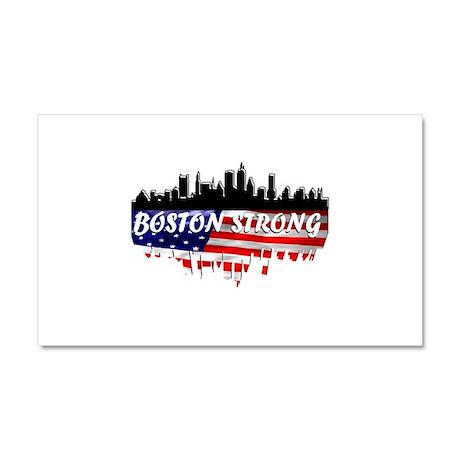 Boston Strong Marathon Car Magnet 20 x 12