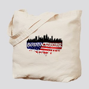 Boston Strong Marathon Tote Bag