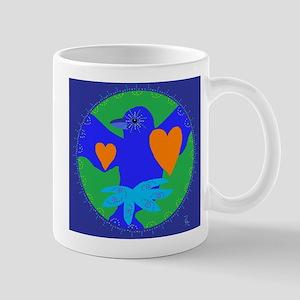 indigo bunting Mug