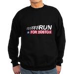 Run for Boston RWB Sweatshirt (dark)