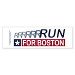Run for Boston RWB Sticker (Bumper 50 pk)