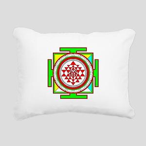Sri Yantra (shree Yantra) deigned Rectangular Canv