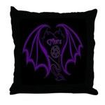 Heart Logo Throw Pillow