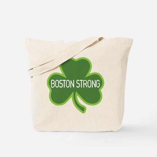 Boston Strong Shamrock Tote Bag
