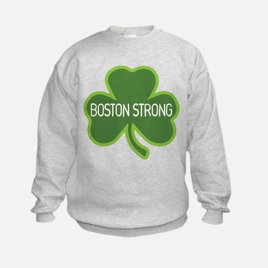 Boston Strong Shamrock Sweatshirt