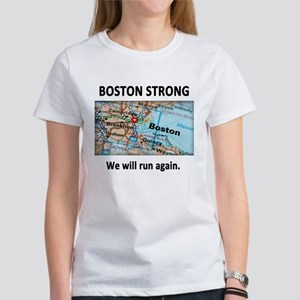 Boston Strong Map Women's T-Shirt