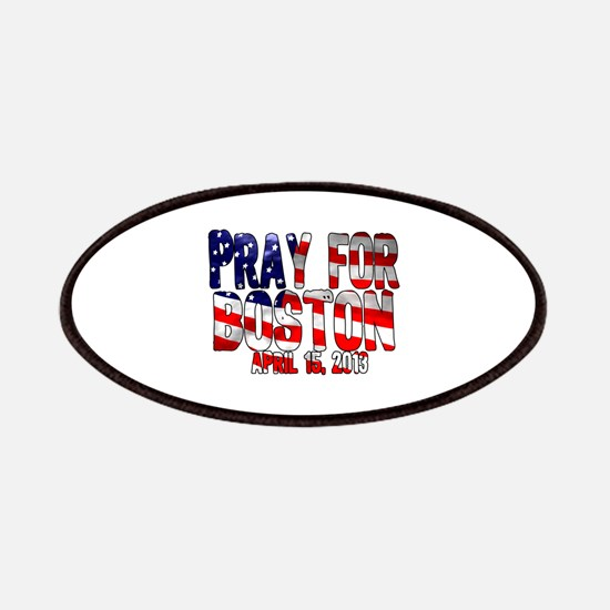 Pray For Boston Flag Patches