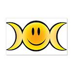 Wiccan Emoji Wall Decal