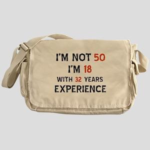 50 year old designs Messenger Bag
