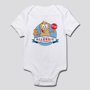 Allergic to Peanuts Infant Bodysuit