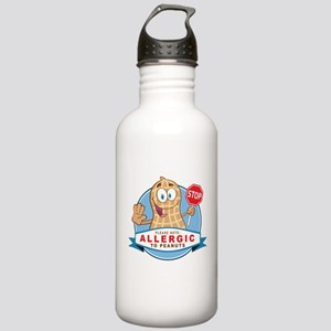 Allergic to Peanuts Stainless Water Bottle 1.0L