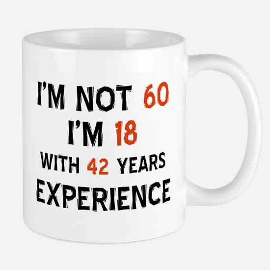 60 year old designs Mug