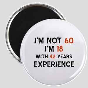 60 year old designs Magnet