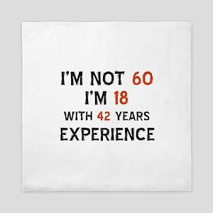 60 year old designs Queen Duvet