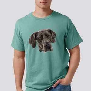 Blue Great Dane Dog Mens Comfort Colors Shirt
