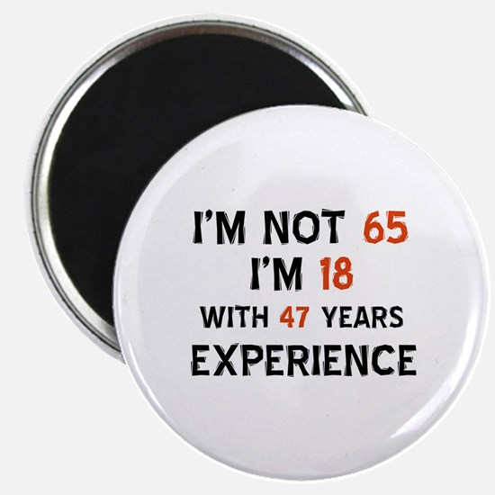 65 year old designs Magnet