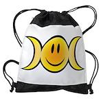 Wiccan Emoji Drawstring Bag