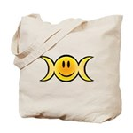 Wiccan Emoji Tote Bag