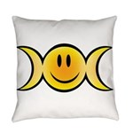 Wiccan Emoji Everyday Pillow