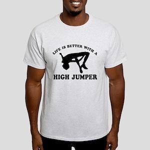 High Jumper Designs Light T-Shirt