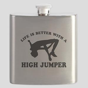 High Jumper Designs Flask