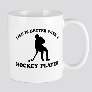 Hockey Player Designs Mug