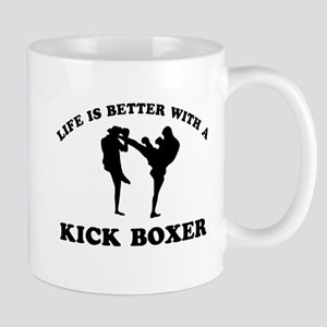 Kick Boxer Designs Mug
