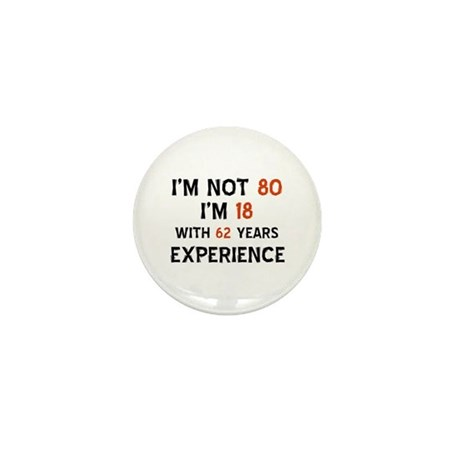 80 year old designs Mini Button  sc 1 st  CafePress & 80 Year Old Birthday Gifts - CafePress