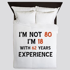 80 year old designs Queen Duvet