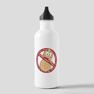 Severe Peanut Allergy Stainless Water Bottle 1.0L
