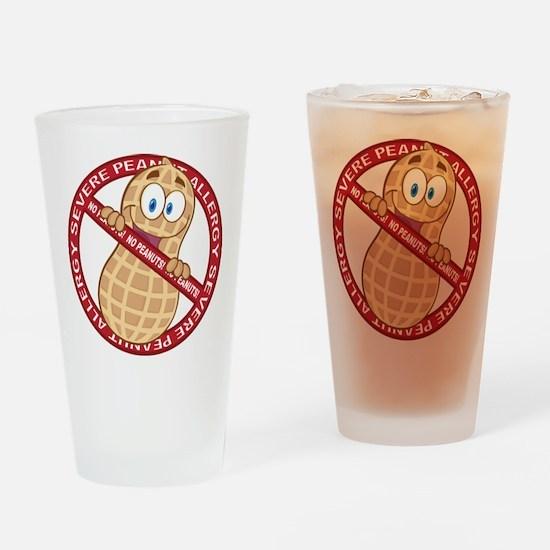 Severe Peanut Allergy Drinking Glass