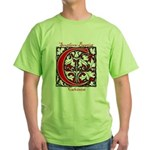 The Scarlet Letter Green T-Shirt